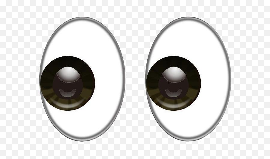 Big Eyes Emoji - Eyes Emoji Transparent Background,Eyes Emoji