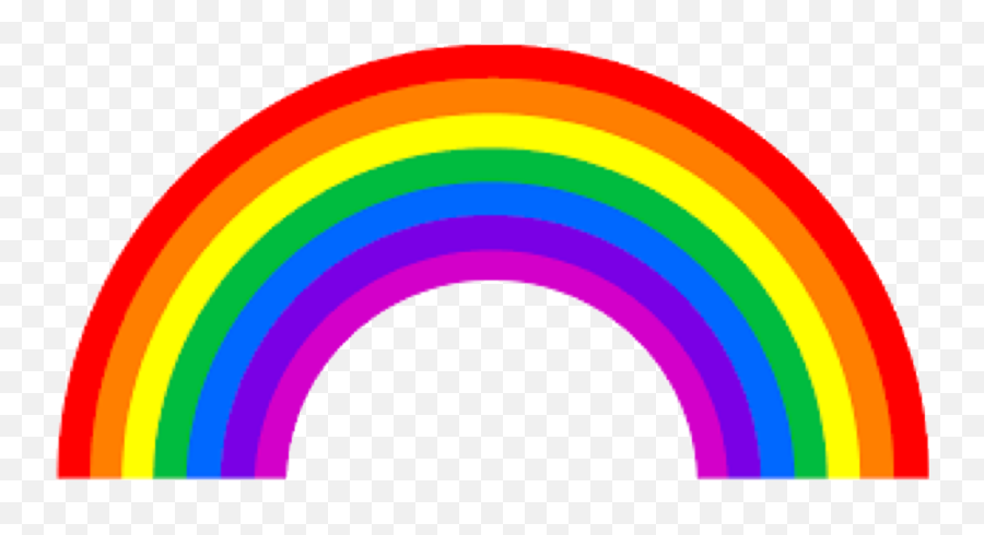 Vibgyor Rainbow Color Codes Webnots - Rainbow Png Emoji