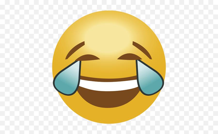 Laugh Crying Emoji Emoticon - Laugh Cry Emoji Png,Laughing Emoji