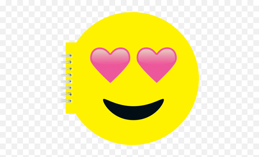 Heart Eyes Emoji Scented Notebook - High Resolution Loved Emoji