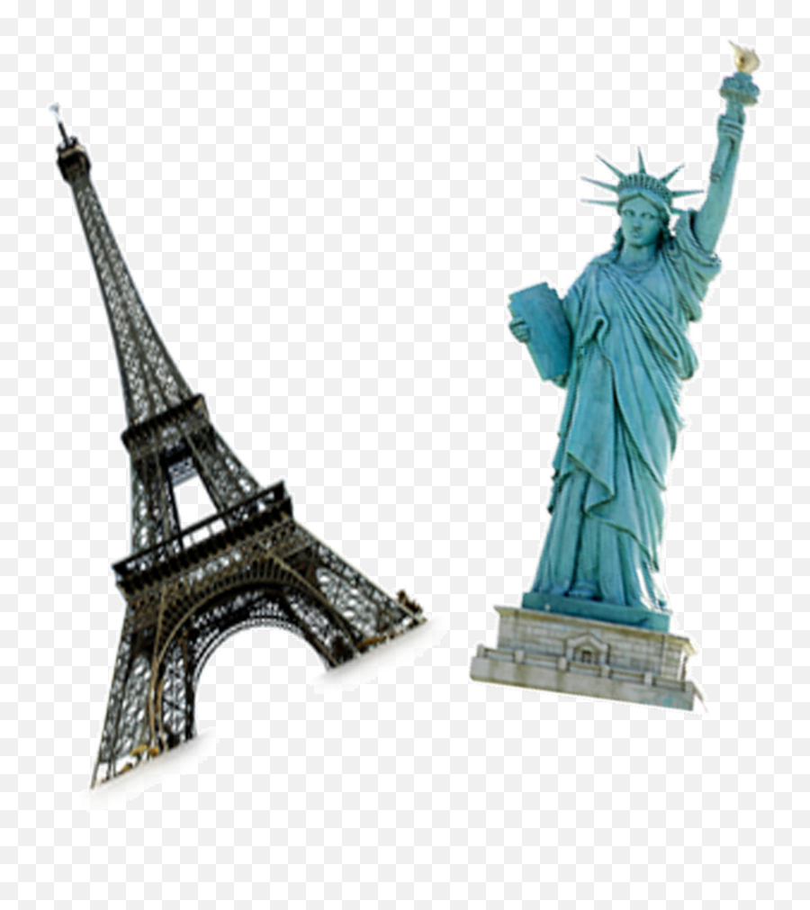 Eiffel Tower Silhouette Png - Statue Of Liberty Eiffel Tower Lal Tip Bangla Movie Emoji,Is There An Eiffel Tower Emoji