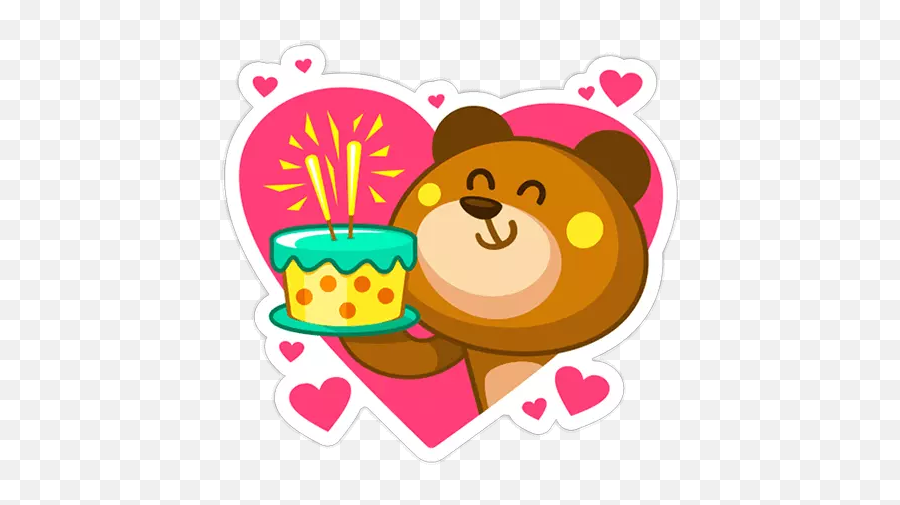 Stickers Happy Birthday Wastickerapps - Birthday Stickers For Whatsapp Emoji