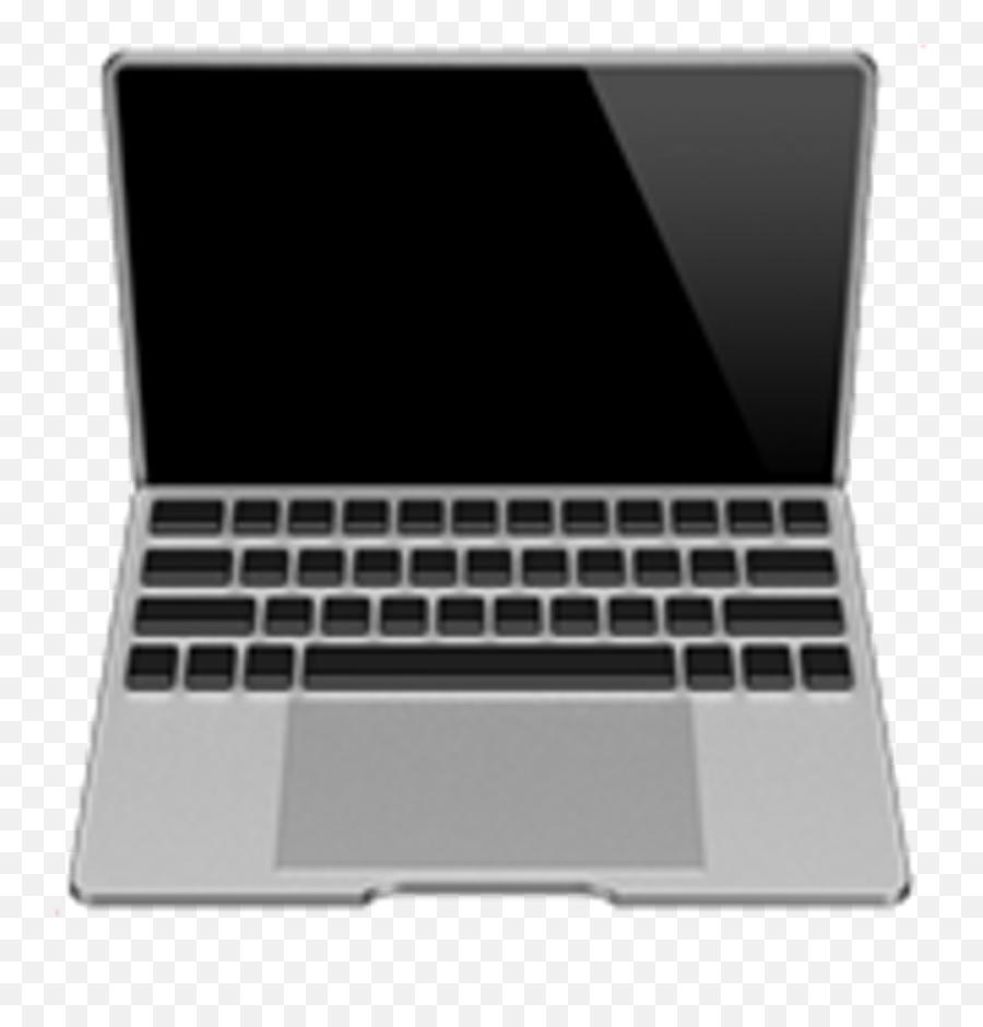 Download Hd Emoji Laptop Computer Emoji Emoticon - Laptop On Apple Ios