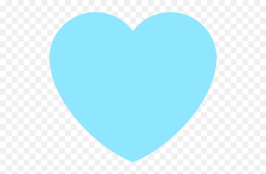 Blue Heart With Black Background Emoji