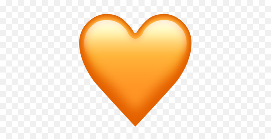 What Do The Different Colors Of Hearts In Emojis Mean Which - Iphone Orange Heart Emoji