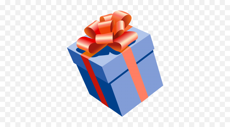Birthday Bow Gift Giftbox Present Icon Png - 5364  Present Clipart Png Emoji