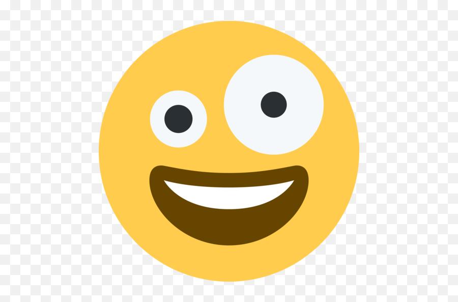 Zany Face Emoji - Significado,Emoji Face Meanings