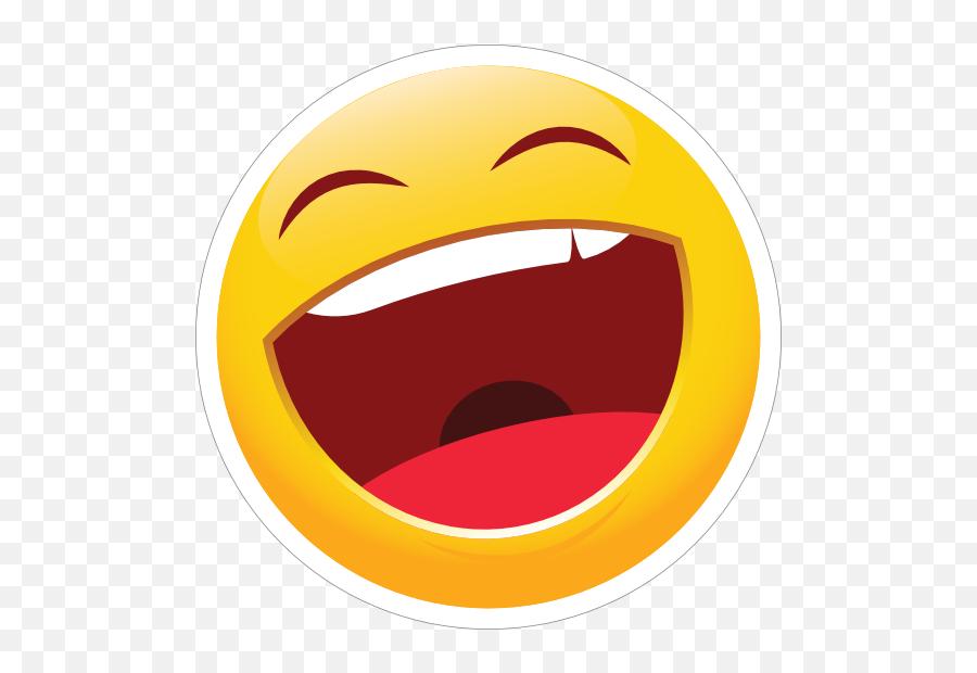 Cute Laughing Emoji Sticker - Laughing Sticker,Laughing Emoji