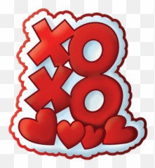 In text meaning xoxo XOXO