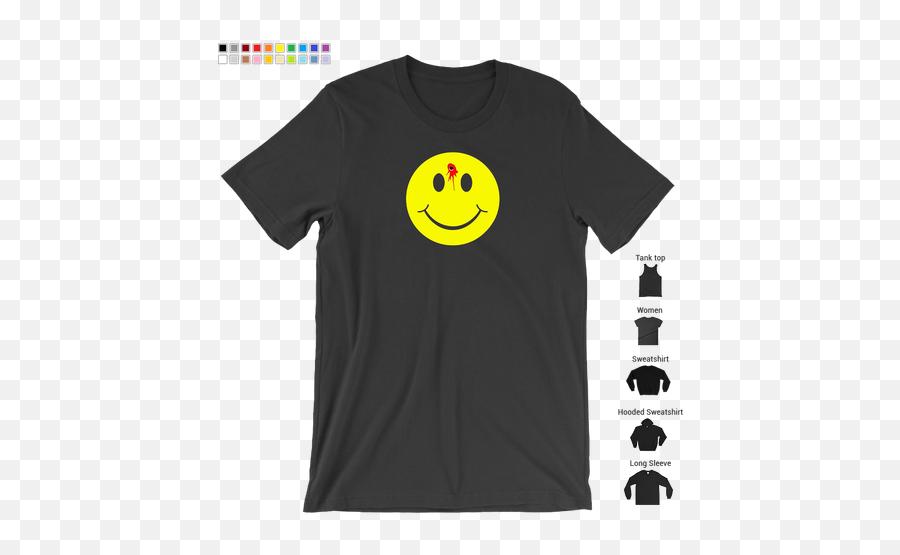 Shot Smiley Face Funny Emoticon T Emoji,Funny Emoticon