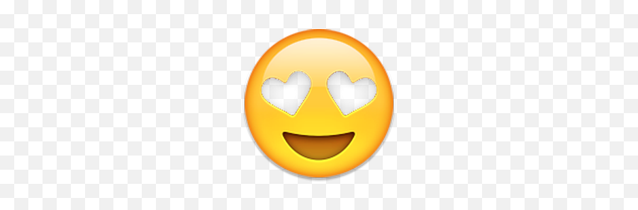 Transparent Emoji Transparency Heart Eyes Emoji - Transparent Heart Eyes,Eyes Emoji