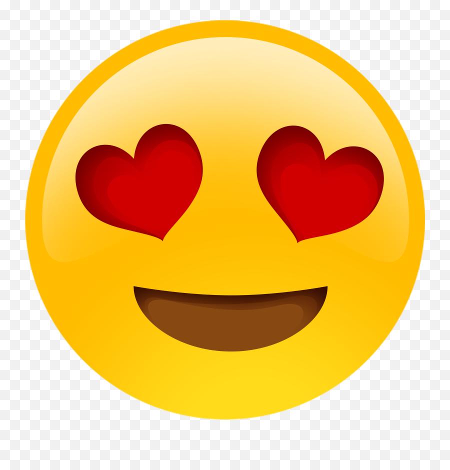 Download Heart Eyes Emoji Png - Heart Eyes Emoji Png,Eyes Emoji