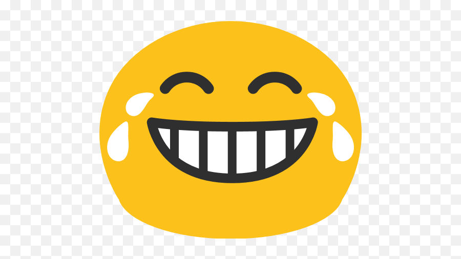 Face With Tears Of Joy Emoji For Facebook Email Sms - Android Laughing Crying Face,Haha Emoji