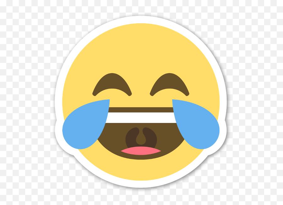 Llorar De La Risa - Laughing Tears Emoji Png,Emoji Llorando