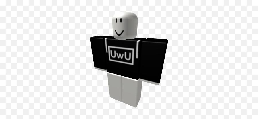 Black UwU Hoodie - Roblox  Roblox White Hoodie Emoji