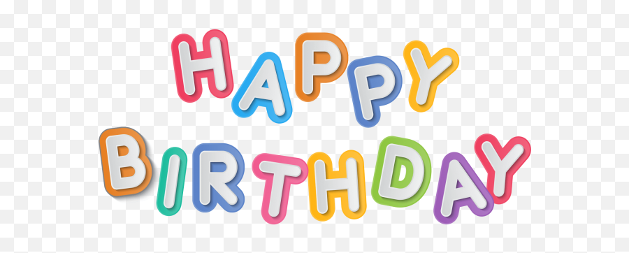 Happy Birthday Png Image Free Download Searchpngcom - Clip Art Emoji,Happy Birthday Emoji Texts