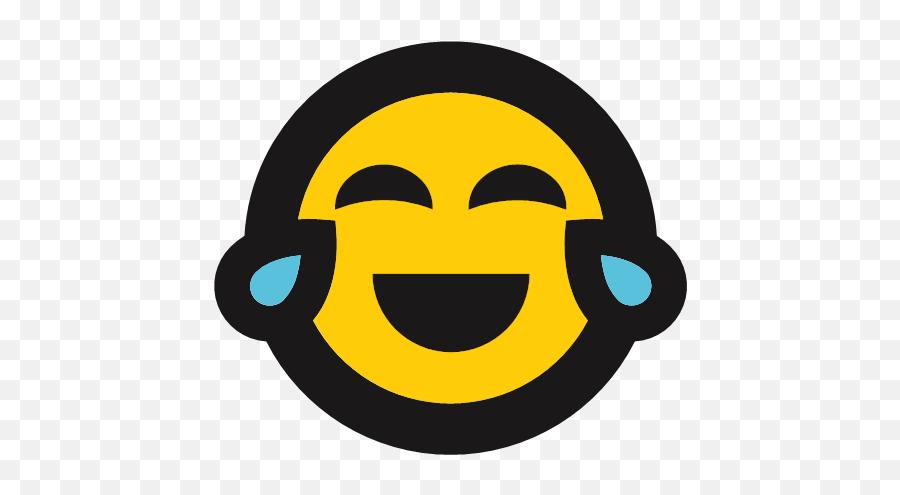 Emoji Funny Laughing Tears Icon,Laughing Emoji