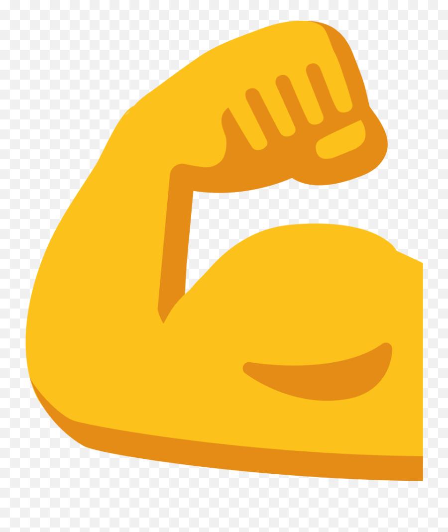 Emoji U1f4aa - Muscles Clipart,Emoji