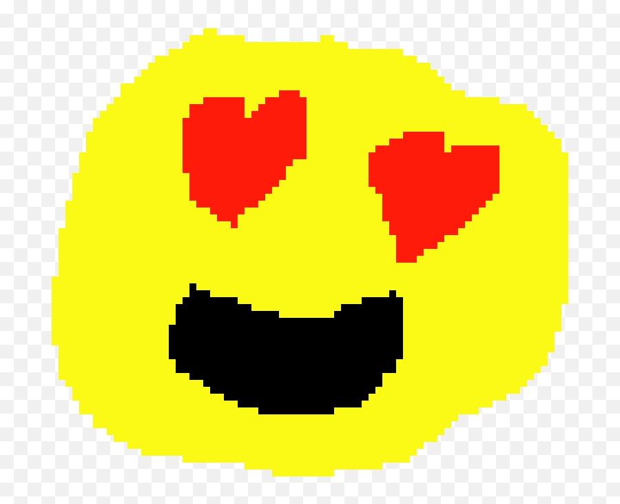 Heart Eyes Emoji - Heart Eyes Emoji On Pixel,Eyes Emoji
