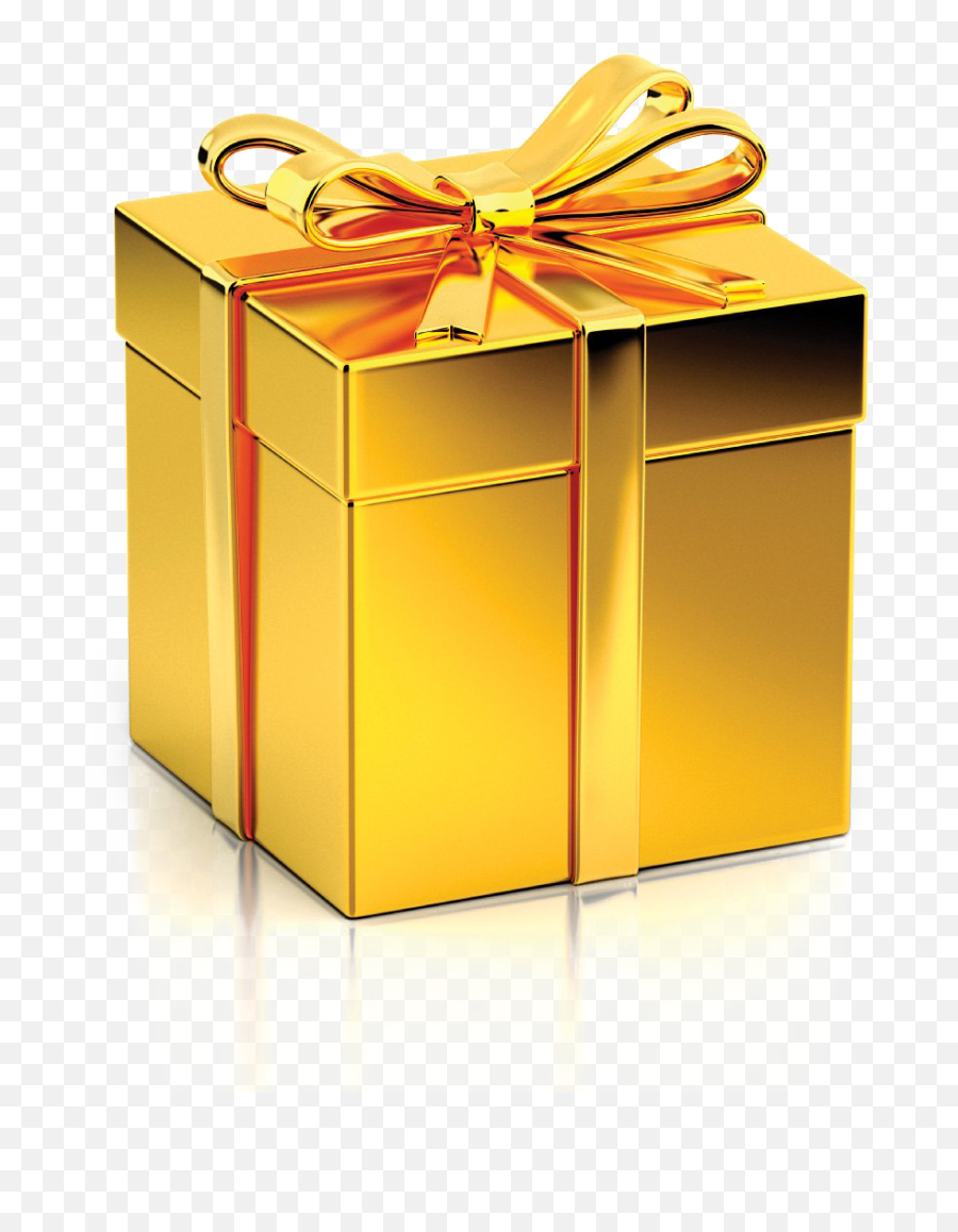 Gift PNG Images Transparent Background  PNG Play - Transparent Background Gold Gift Box Emoji