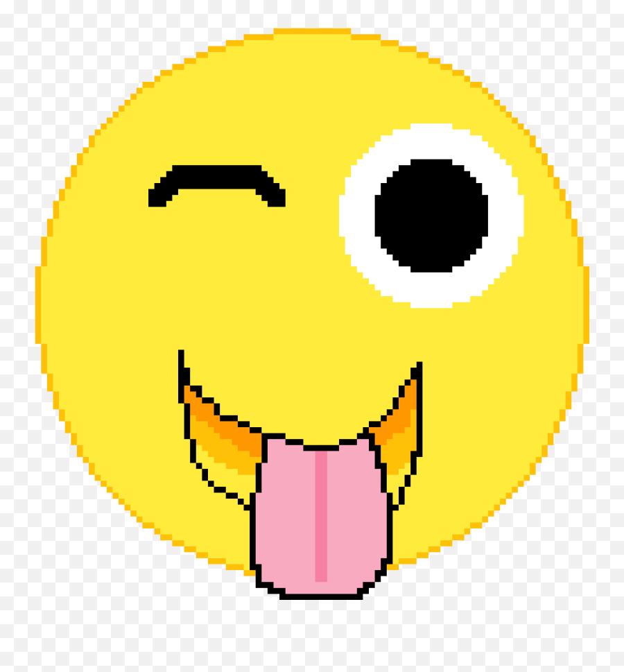 Pixilart - Pixel Portrait Emoji,Silly Emoji