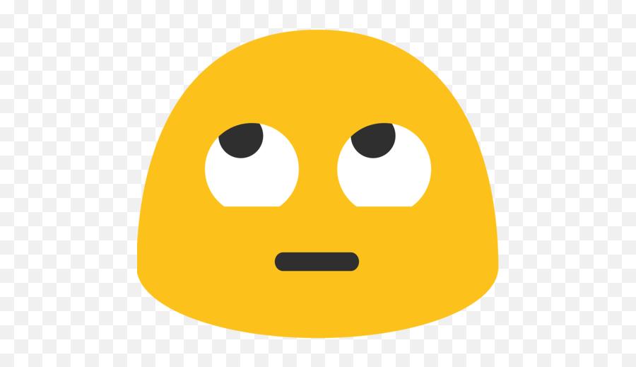 Face With Rolling Eyes Emoji - Emoji Mirando Hacia Arriba,Eyes Emoji