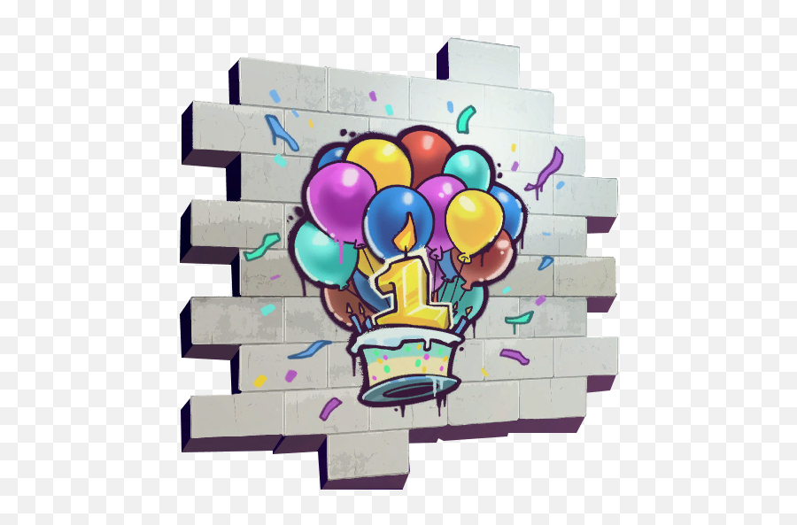 Uncommon Happy Birthday Spray Fortnite Cosmetic Dance At 10 - Fire Vs Ice Fortnite Spray Emoji