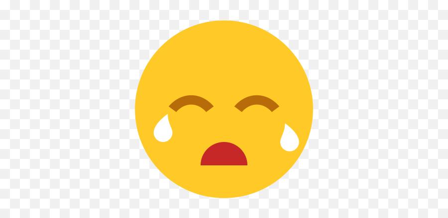 Crying Icon - Smiley Emoji,Tear Drop Emoji