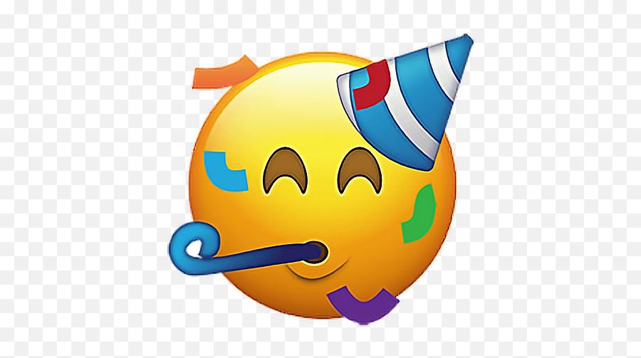 Emoji Emojis Emojisticker Birthday Birthdayemoji Happyb - Party Emoji Png