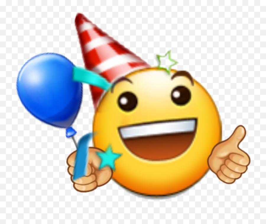 Clipart Birthday Emoji Picture - Happy Birthday Emoji Stickers