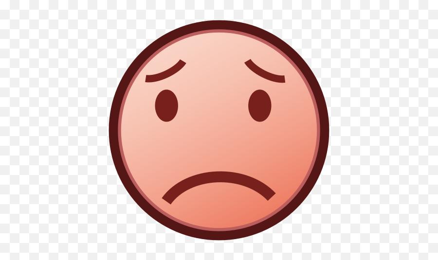 Phantom Open Emoji 1f61f - Portable Network Graphics,What Does The Peach Emoji Mean