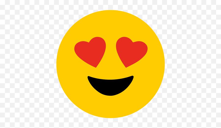 Download Emoji Heart Eyes Png Vector Royalty Free Library - Emoji Hearts Eyes