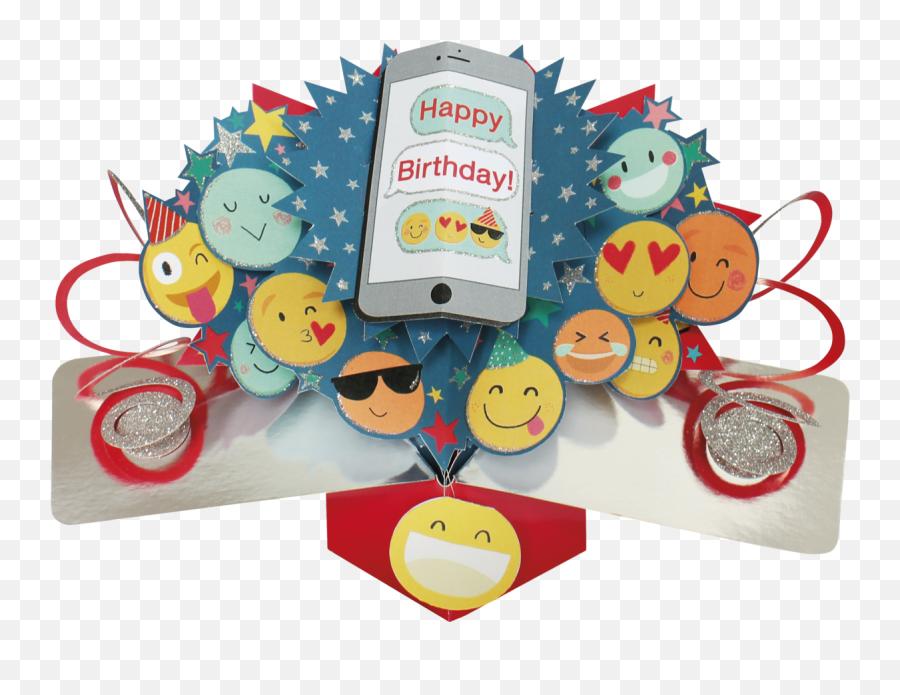 Second Nature Pop Ups - Greeting Card Emoji,Birthday Emoji