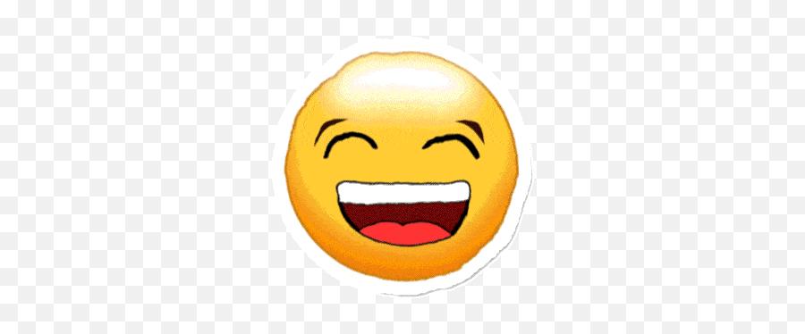Emoji Happy Gif - Smiley