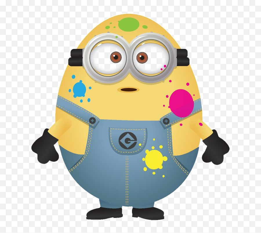 Happy Minions Png Image Background - Funny Minion Easter Clip Art Emoji