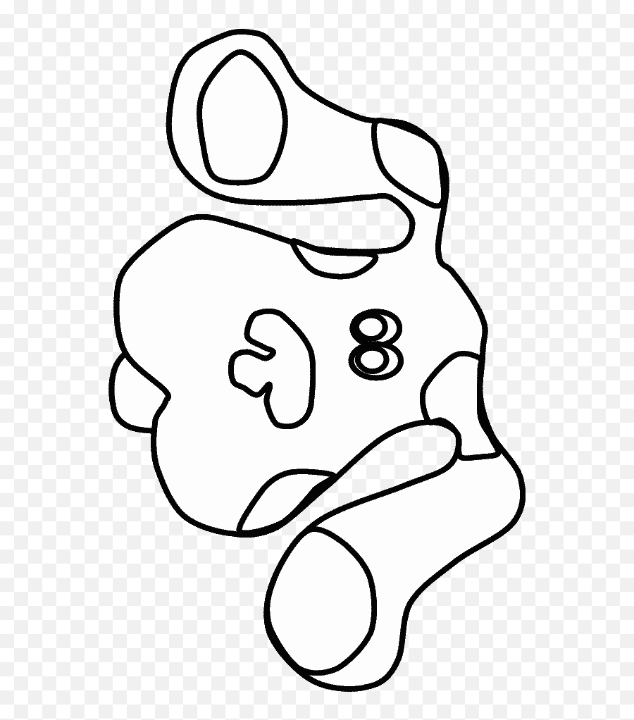 Girl Surprised People Coloring Pages - Blues Clues Coloring Pages Emoji