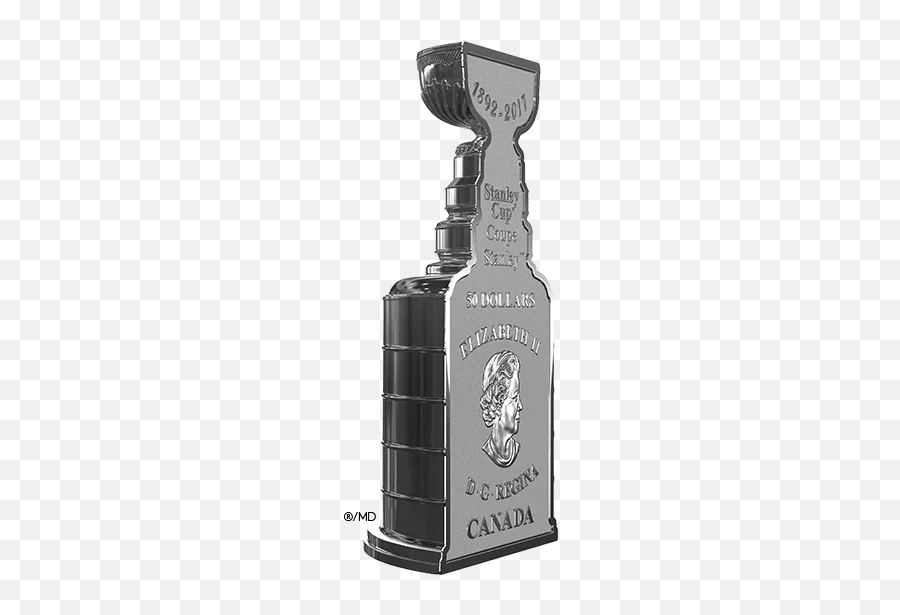 Stanley Cup Trophy Clip Art Transparent - Stanley Cup Coin Canada Emoji