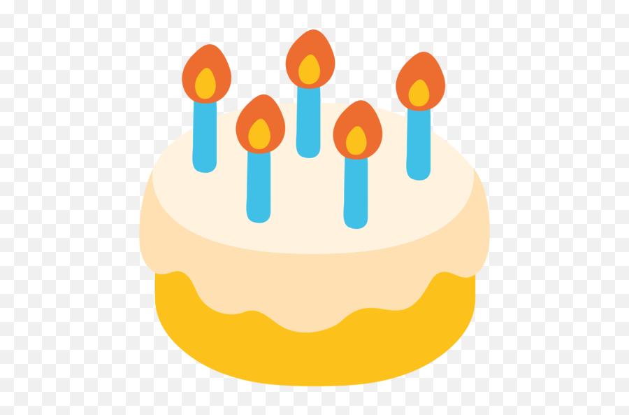 Birthday Cake Emoji - Torta De Cumpleaños Emoji