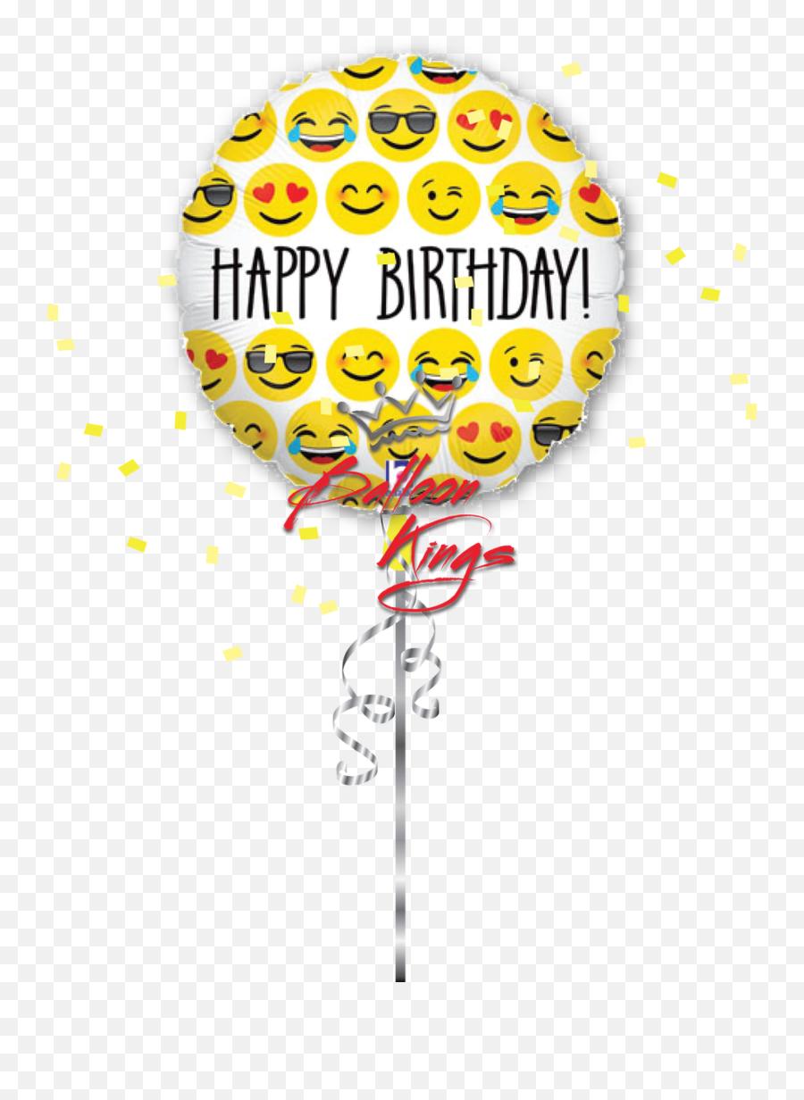 Emoji Birthday - Happy Birthday Smiley Emoji