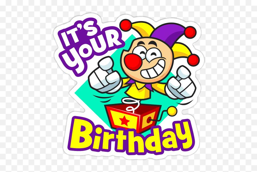 Happy Birthday Stickers Facebook Copy Paste Stickers - Clip Art Emoji