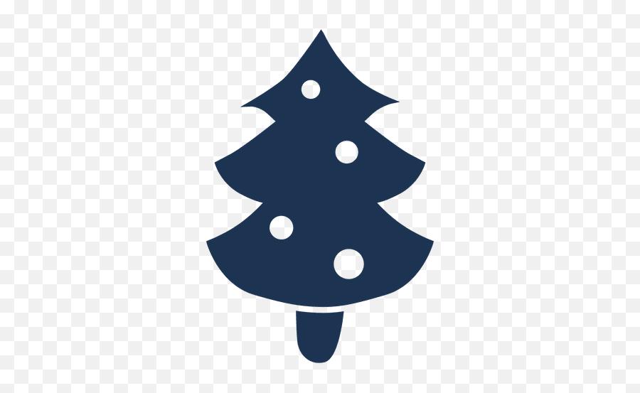 Christmas Tree Silhouette Icon 61 - Christmas Tree Emoji,Christmas Tree Emoticon
