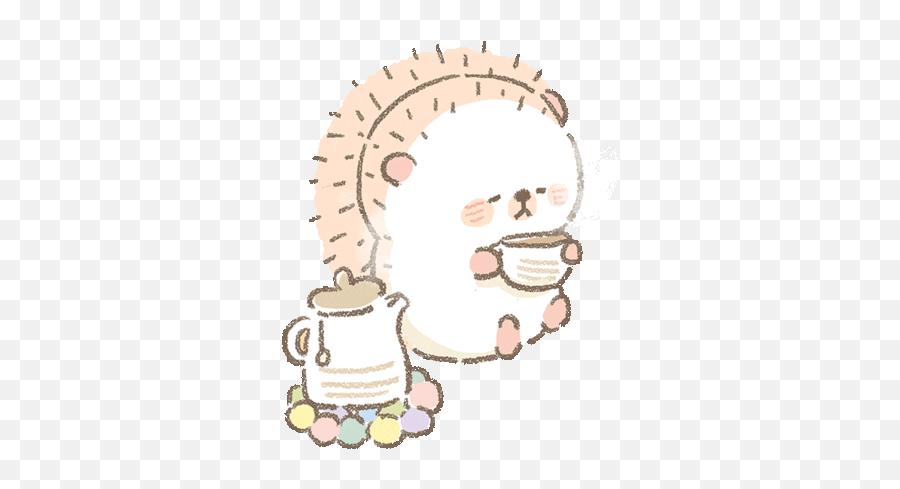 Via Giphy - Illustration Emoji,Deer Emoji Iphone