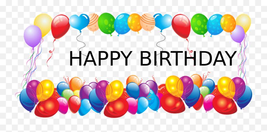 Happy Birthday Balloons Party Emoji