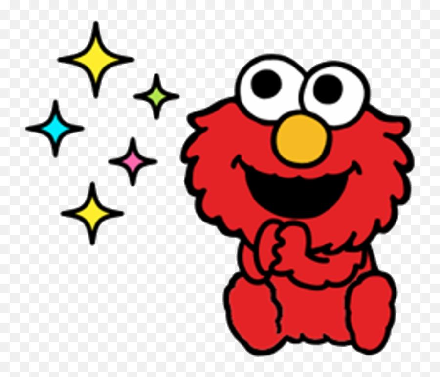 Elmo Png - Sesame Street Cartoon Elmo Emoji
