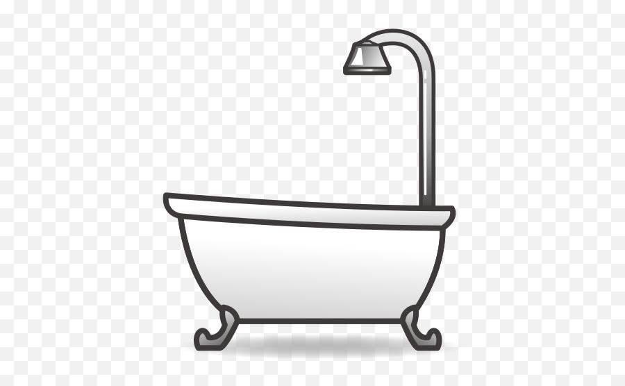 Bathtub Emoji For Facebook Email Sms - Bathtub Emoji,Bath Emoji - free transparent emoji - emojipng.com