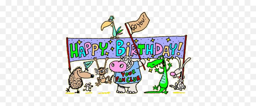 Free Happy Birthday Animation Download - Happy Birthday Clipart Gif Emoji
