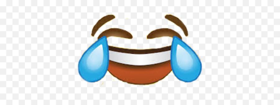Face Emoji Meme Crying Laughing Emoji - Cry Laugh Emoji Sticker Png,Laughing Emoji