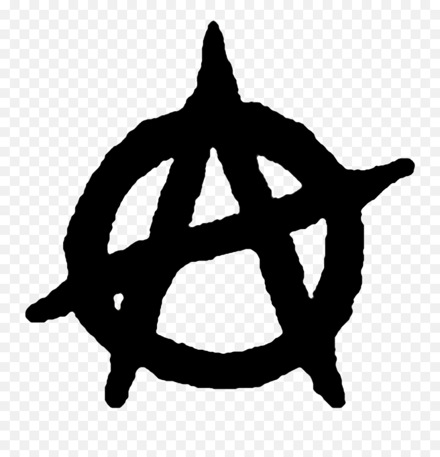 Anarchy Anarchism Anarchist - Anarchy Symbol Emoji