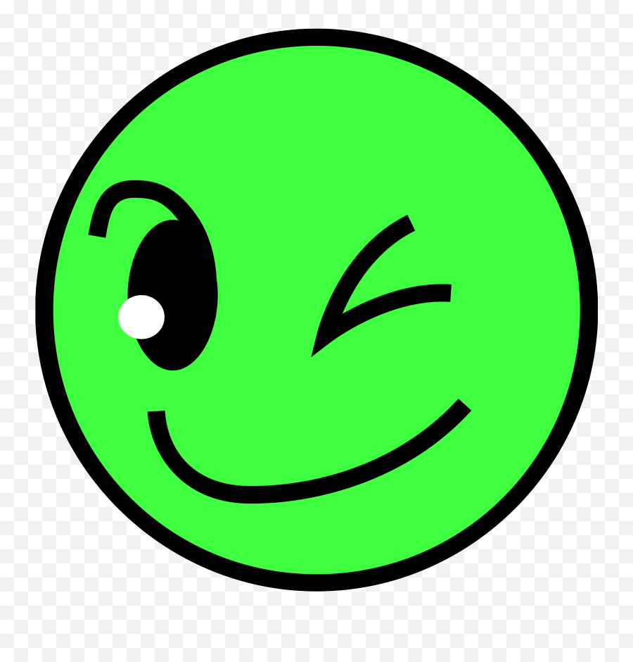 Free Smiling Face Download Free Clip Art Free Clip Art - Green Smiling Emoji,Half Smile Emoji