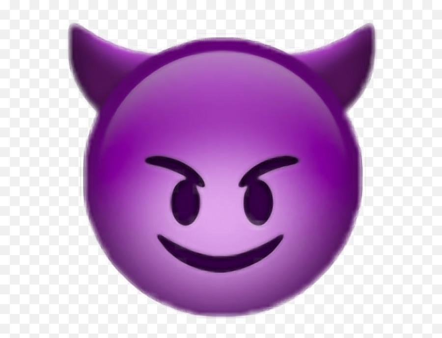 Purple Devil Emoji Png Picture - Emoji